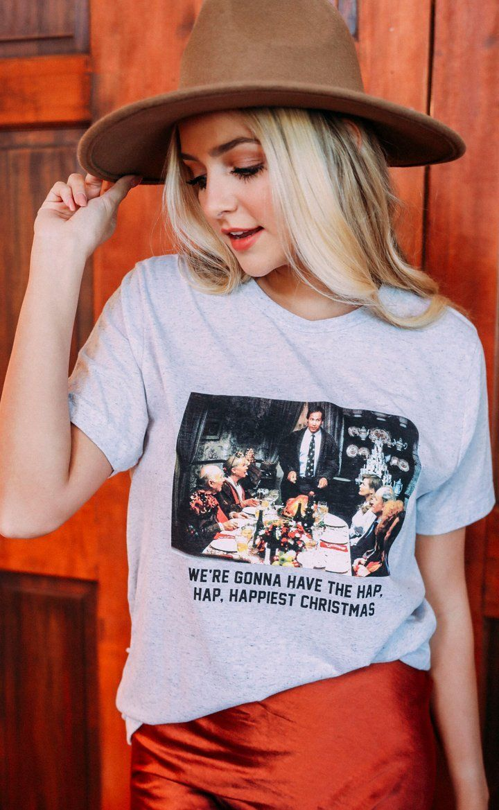 Happiest Christmas Tee by Charlie Southern - Caroline Hill