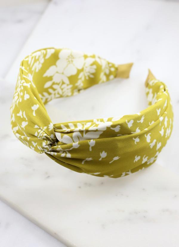 Haymes Floral Printed Headband Green - Caroline Hill