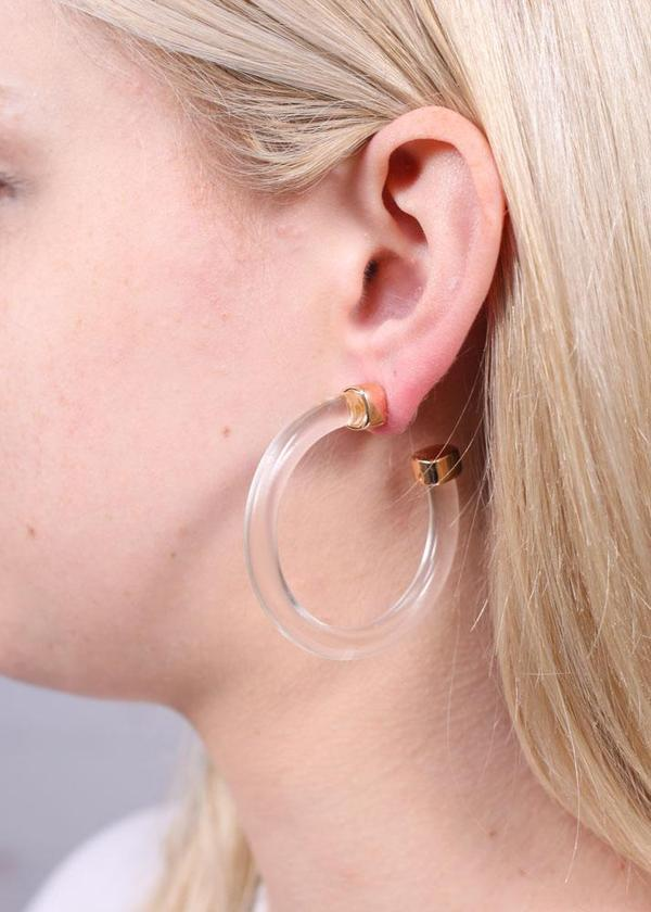 Hobson Clear Earring - Caroline Hill