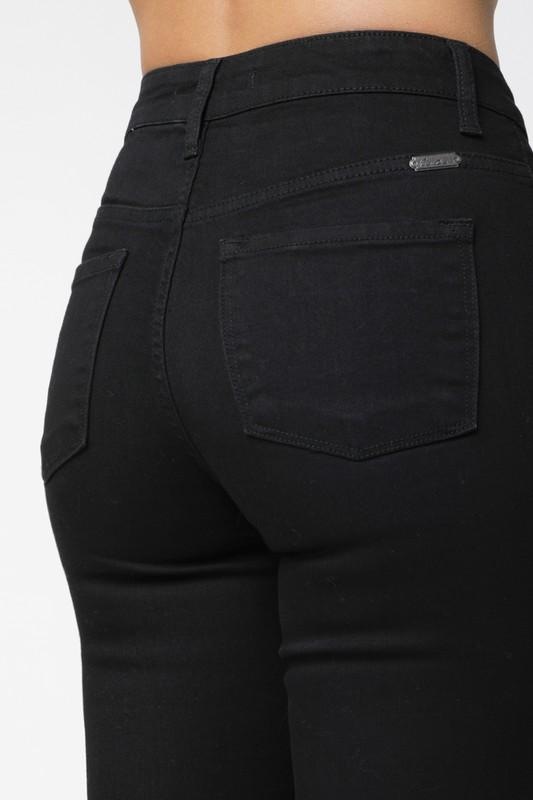 KanCan High Rise Black Super Skinny Jeans - Caroline Hill
