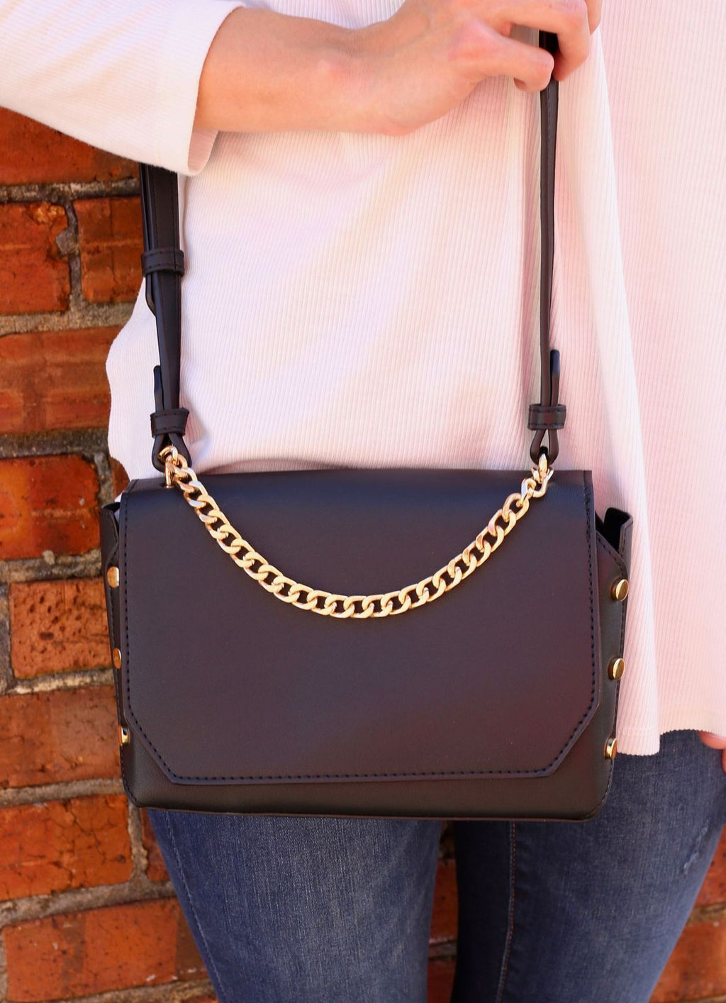 Kathy Crossbody Black - Caroline Hill