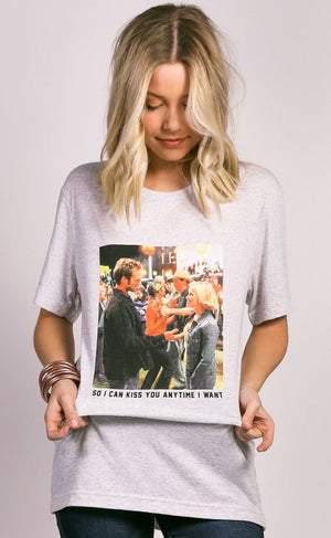 Kiss You Anytime I Want Tee by Charlie Southern - Caroline Hill