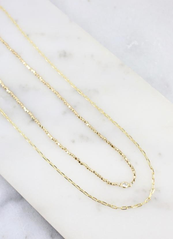 Koprani Layered Necklace Gold - Caroline Hill