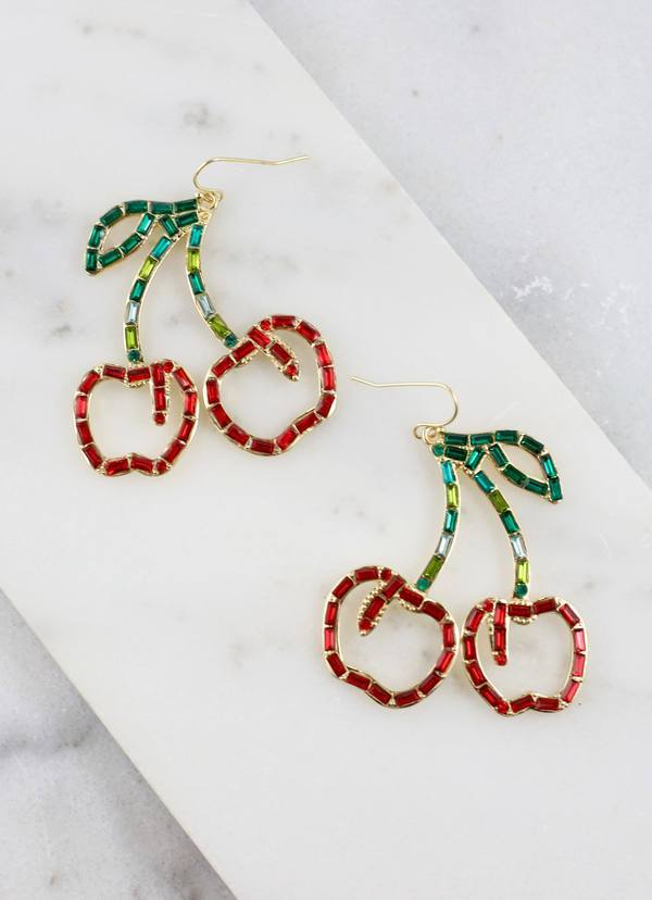 Krista Cherry Earring - Caroline Hill