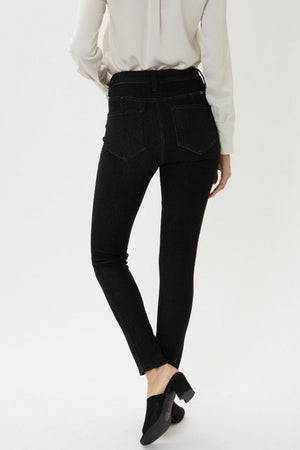 Krystal High Rise Super Skinny Black Jeans - Caroline Hill