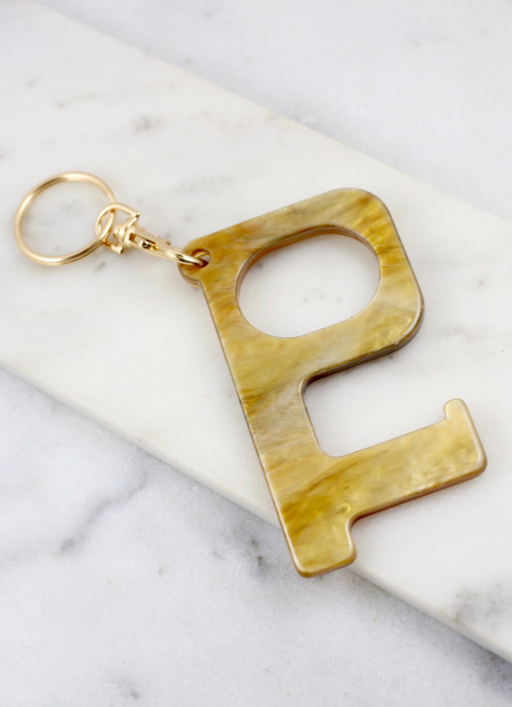 Lana Safety Hook Keychain Natural - Caroline Hill