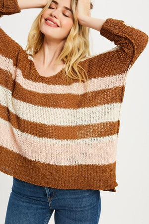 Let's Groove Tonight Gucci Striped Sweater - Caroline Hill
