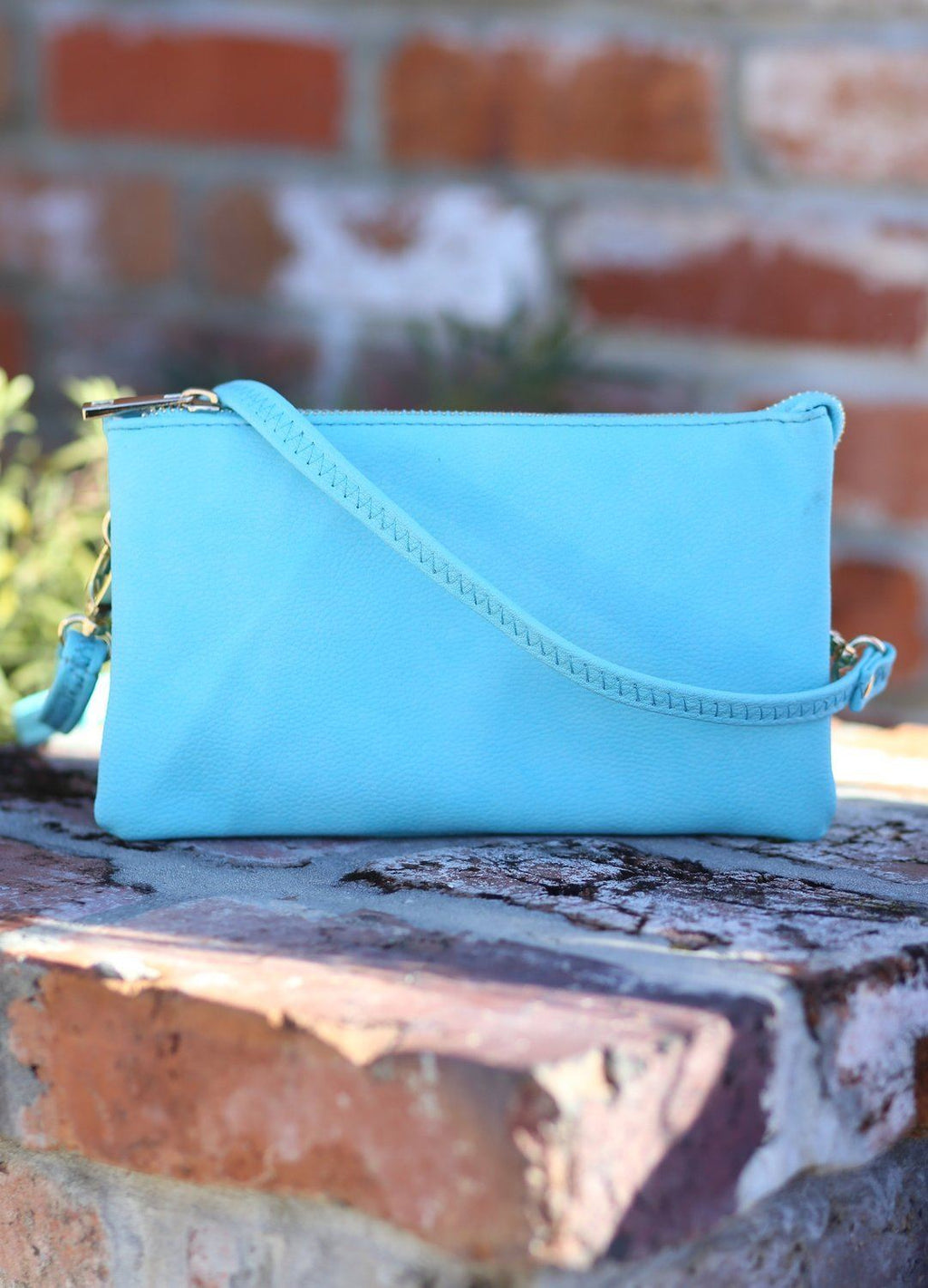 Liz Aquamarine Crossbody - Caroline Hill