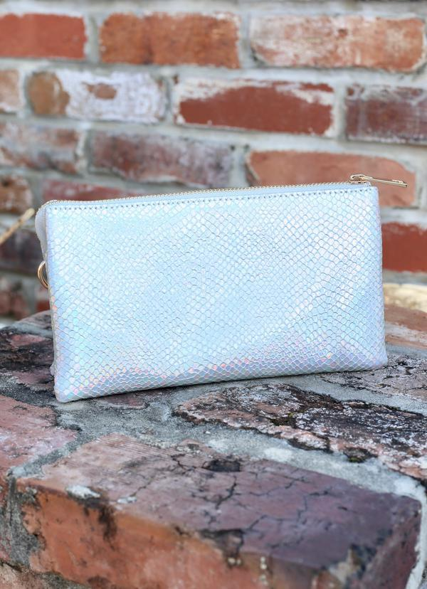Liz Crossbody Snake Hologram Pop - Caroline Hill