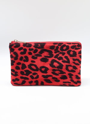 Liz Custom Collection Crossbody Red Leopard - Caroline Hill