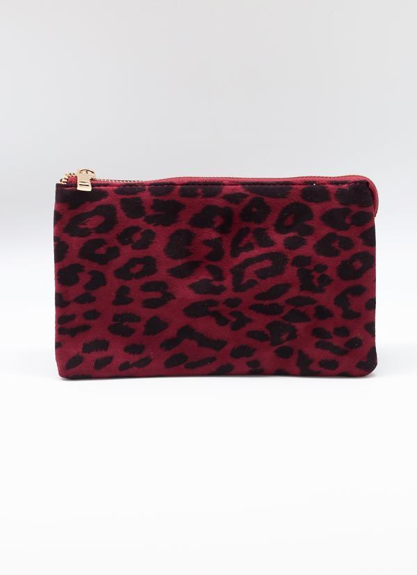 Liz Custom Collection Crossbody Wine Leopard - Caroline Hill