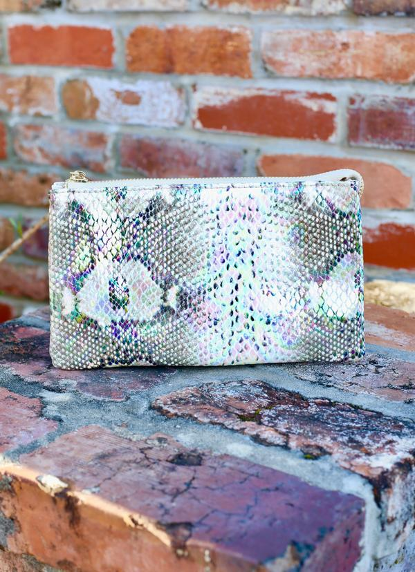 Liz Snake Multi Hologram Crossbody - Caroline Hill
