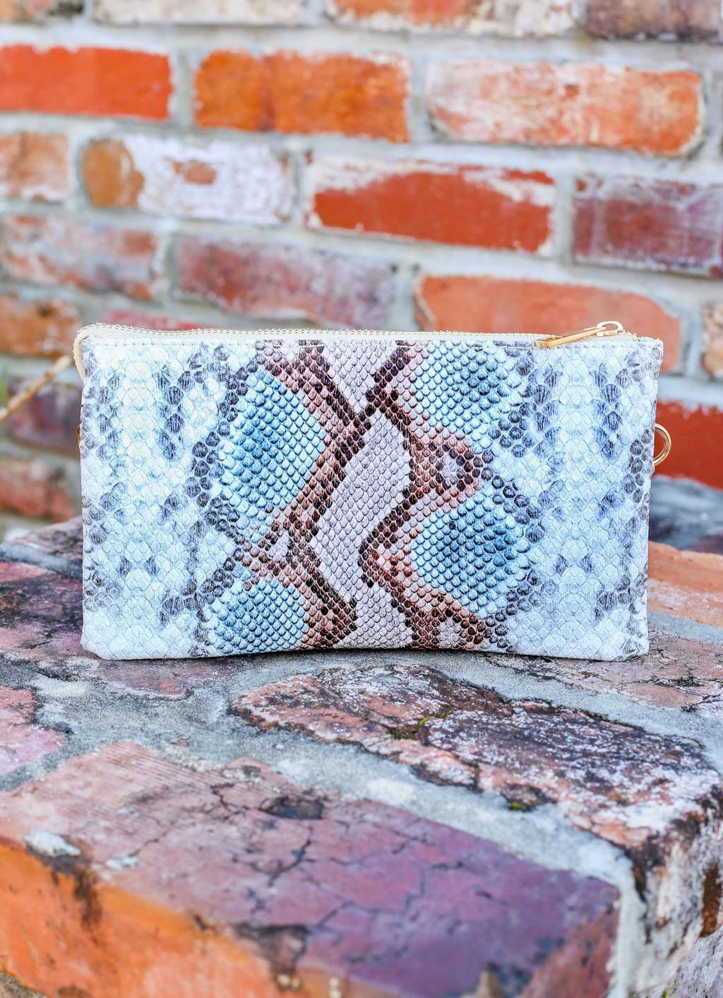Liz Snake Sunset Crossbody - Caroline Hill