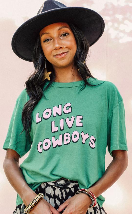Long Live Cowboys Tee by Charlie Southern - Caroline Hill