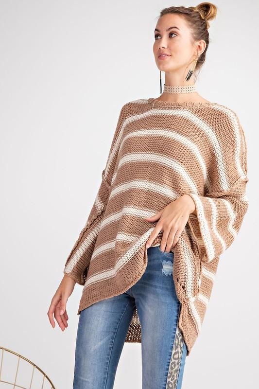 More Mocha Please Knit Sweater - Caroline Hill