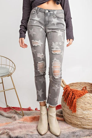 Moves Like Jagger Black Star Denim - Caroline Hill