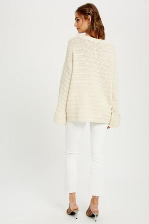 Oh Happy Day Cream Sweater - Caroline Hill