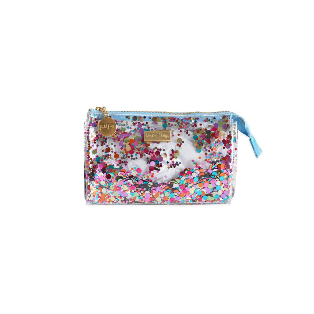 Packed Party Mini Multi Confetti Cosmetic Zip Pouch - Caroline Hill