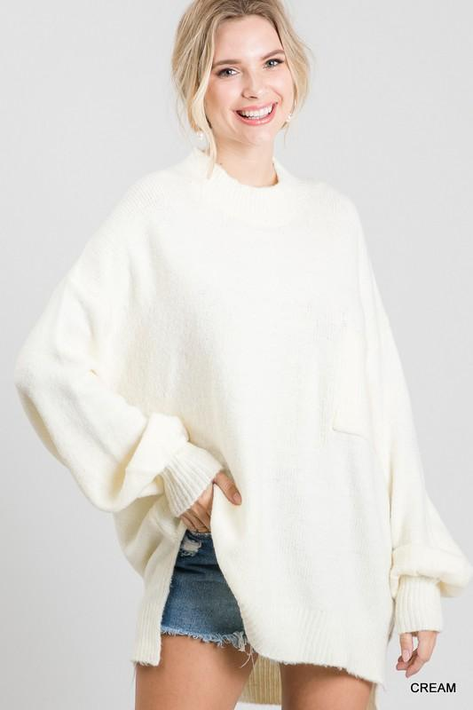 Pocket Full Of Sunshine Cream Sweater - Caroline Hill