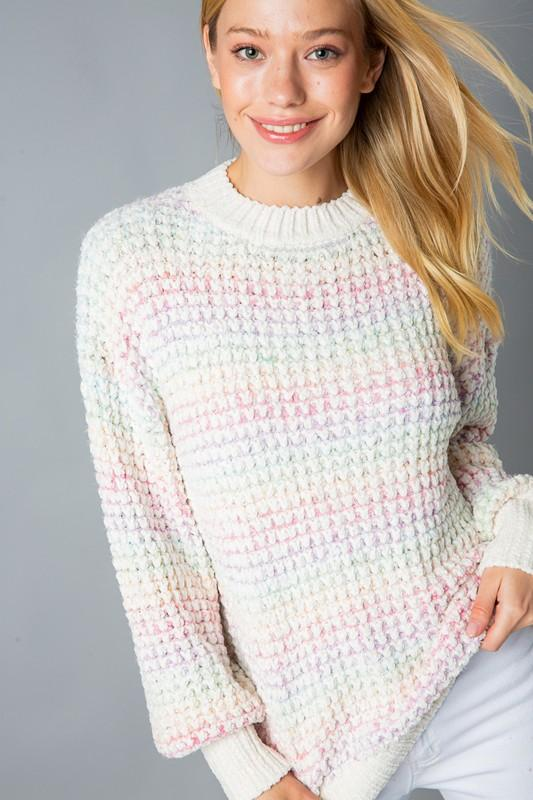 Rainbow Wish Multi Sweater - Caroline Hill