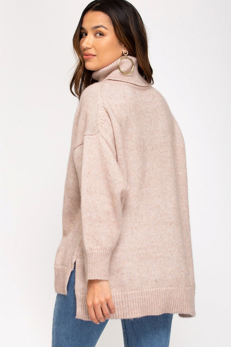 Rose One Size Sweater - Caroline Hill