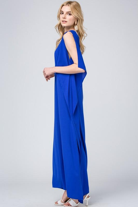 Royally Yours Blue Maxi Dress - Caroline Hill