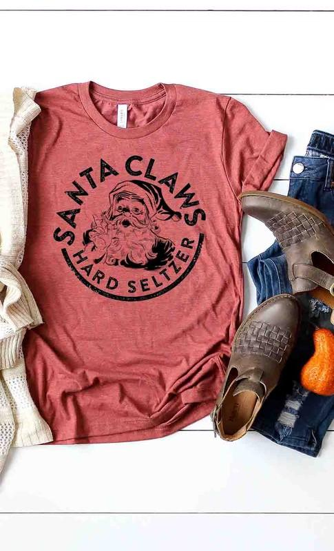 Santa Claws Graphic Tee - Caroline Hill