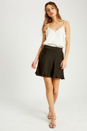 Satin Swing Skort - Caroline Hill