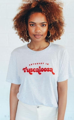 Saturday In Tuscaloosa Tee by Charlie Southern - Caroline Hill