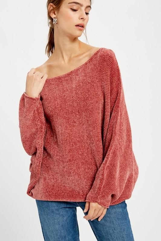 Sense and Sensibility Chenille Sweater - Caroline Hill