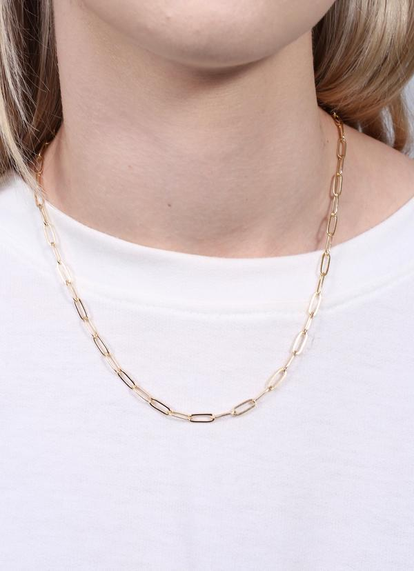 Soucie Link Necklace Gold - Caroline Hill