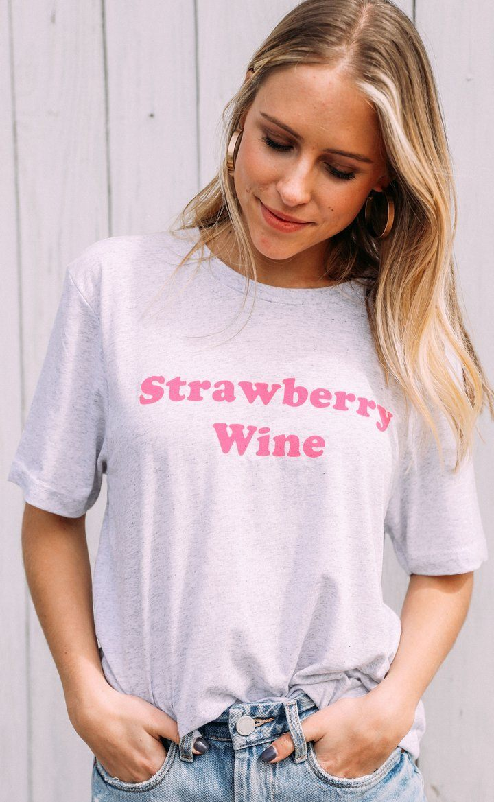 Strawberry Wine Tee by Charlie Southern - Caroline Hill