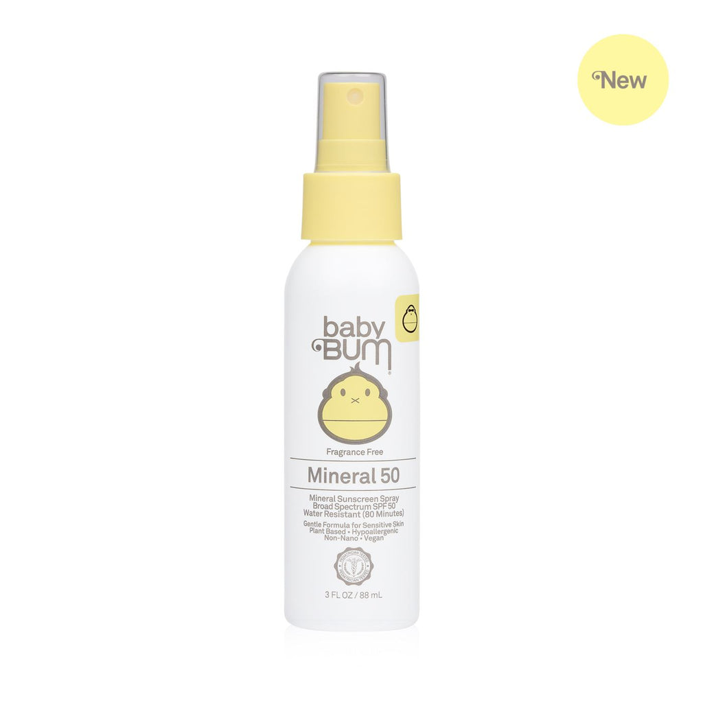 Sun Bum Mineral SPF 50 Sunscreen Spray-Fragrance Free - Caroline Hill