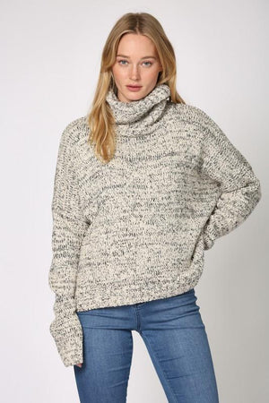 The Simple Things Ivory Turtleneck - Caroline Hill