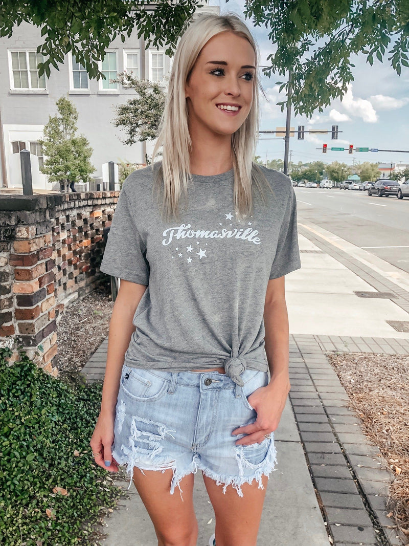 Thomasville Speckled Star Tee by Charlie Southern - Caroline Hill