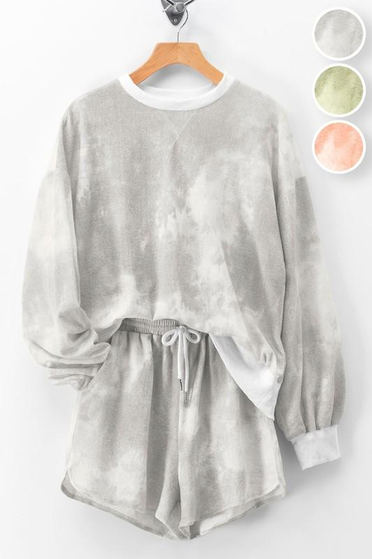 Your One and Only Grey Tie-Dye Set - Caroline Hill