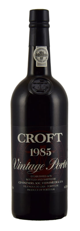 1985 Croft Port - VinPorter Wine Merchants