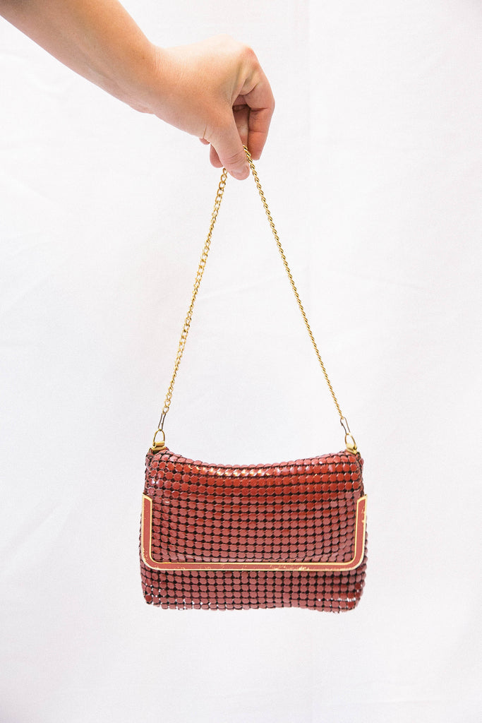 70's Red Cocktail Bag
