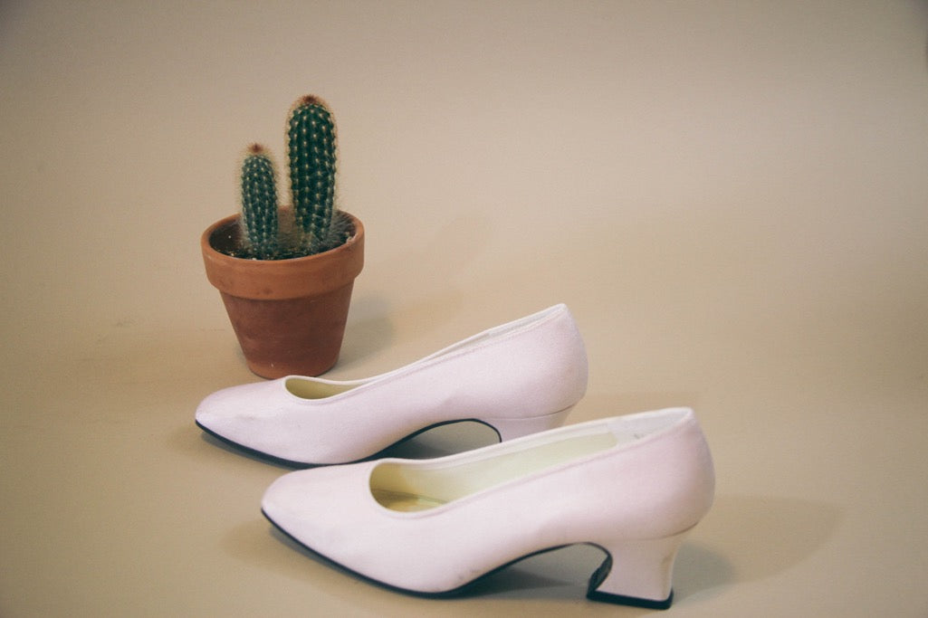 Baby Soft Pink Low Heel