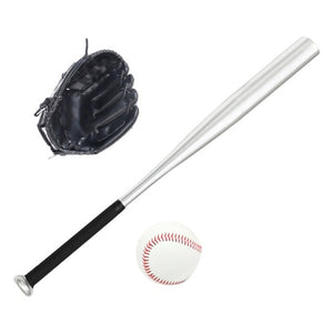 S: Baseball Set For Kids 61cm Softball Bat Glove For Children Sports