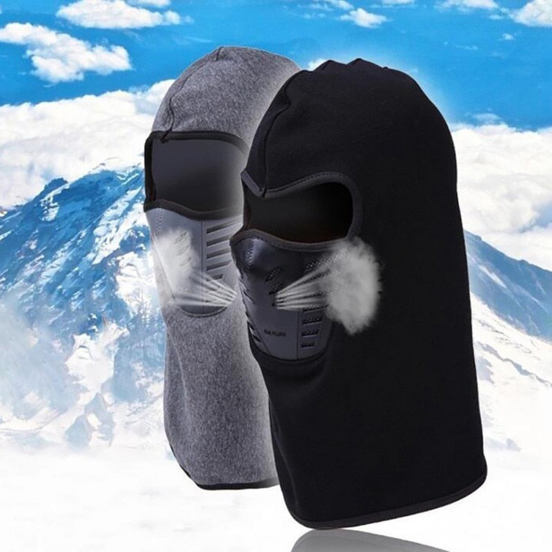 Face Mask Outdoor Bicycle, Skiing Windproof Carbon Filter Protector