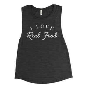 I Love Real Food Workout Tank