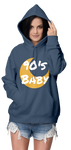 90s Baby Moon Women's Hoodie | Hoodies | BFY Apparel | Streetwear & More