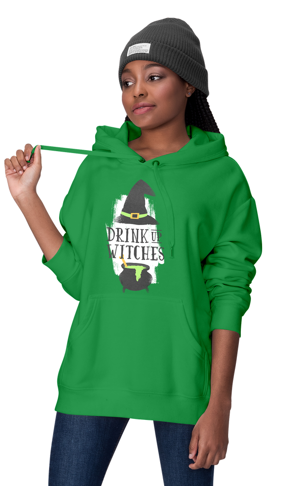 Drink Up Green Women's Hoodie