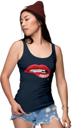 Finesse Lip Women's Racerback Tank