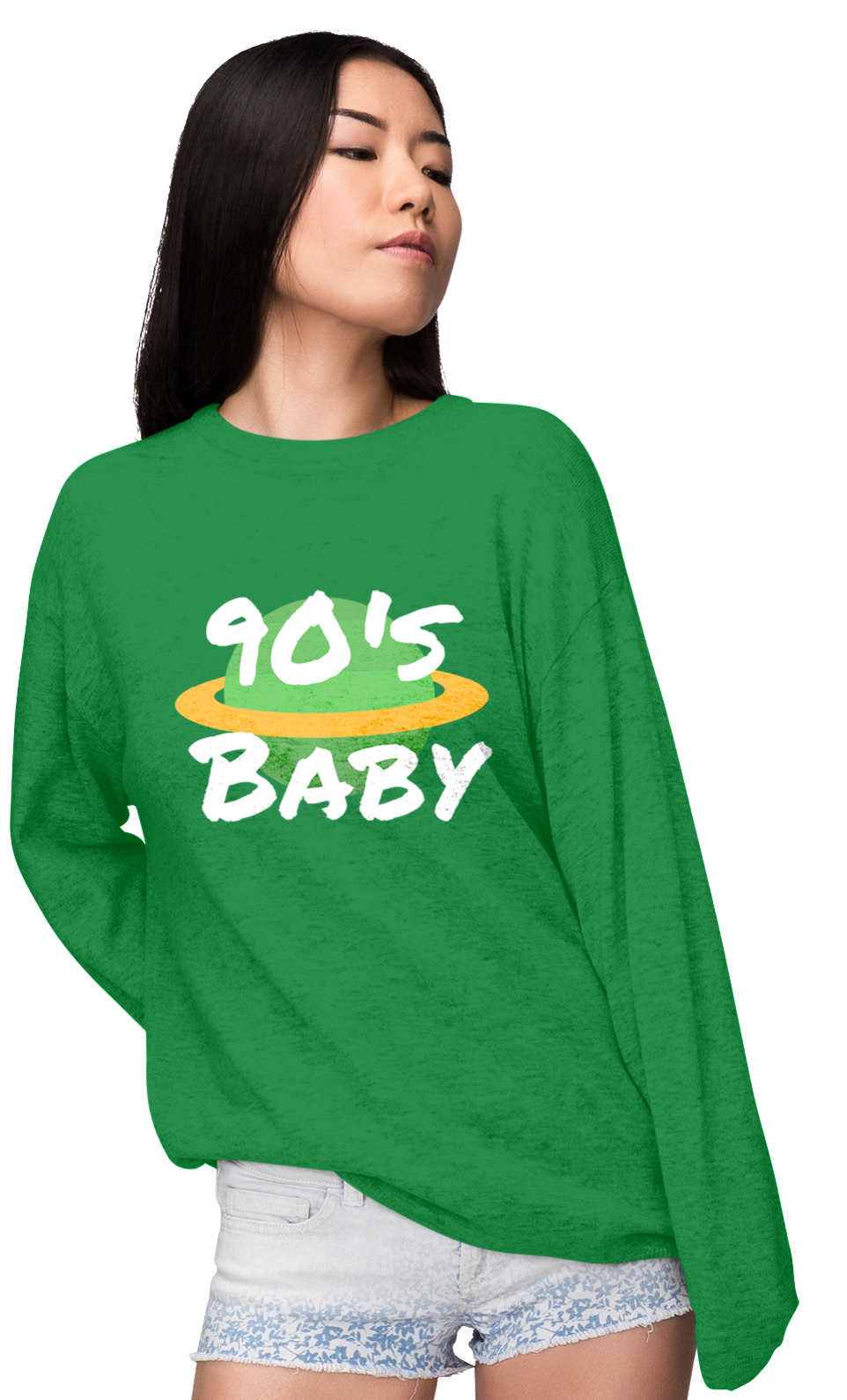 90's Baby World Sweatshirt (W)