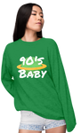 90's Baby World Sweatshirt (W) | Sweatshirt | BFY Apparel | Streetwear & More