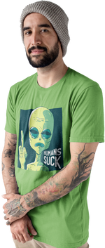 Humans Sucks Short-Sleeve Men's T-Shirt