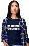 I'm The CEO Short-Sleeve Unisex T-Shirt (W) | Shirts | BFY Apparel | Streetwear & More
