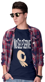 No Self Serve Short-Sleeve Unisex T-Shirt